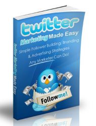 twitter marketing made easy plr ebook twitter marketing made easy plr ebook Twitter Marketing Made Easy PLR Ebook twitter marketing made easy plr ebook 1 190x250