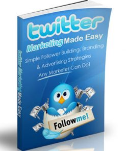 twitter marketing made easy plr ebook