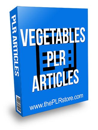 Vegetables PLR Articles