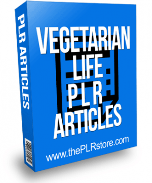 Vegetarian Life PLR Articles