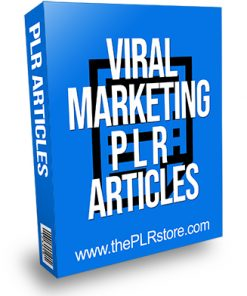 Viral Marketing PLR Articles