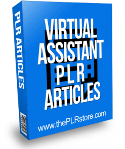 Virtual Assistant PLR Articles