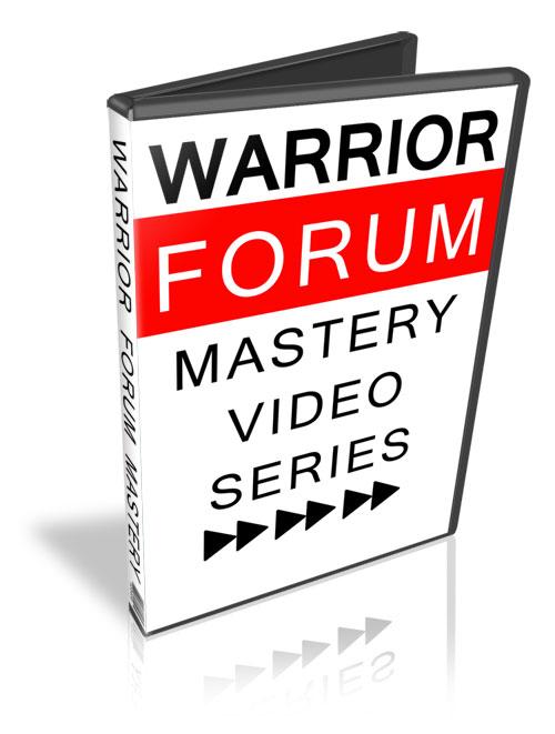 warrior forum mastery plr video