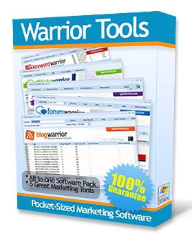 warrior forum tools software