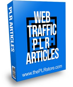 Web Traffic PLR Articles