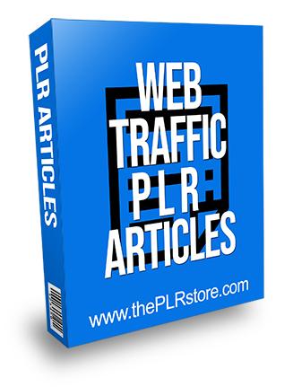 Web Traffic PLR Articles