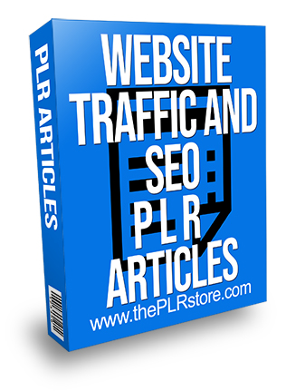 Website Traffic and SEO PLR Articles