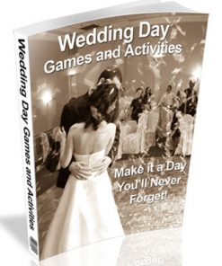wedding day games plr ebook