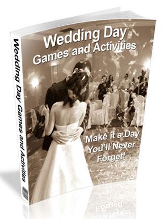 wedding day games plr ebook