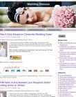 Wedding Dress PLR Amazon Pre-Loaded Store Website wedding dresses plr amazon store website main 110x140