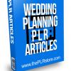 Wedding Planning PLR Articles