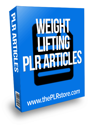 weight lifting plr articles