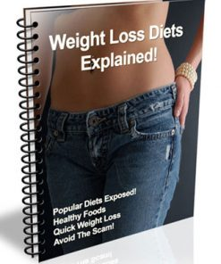 weight loss diets explained plr ebook
