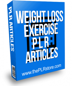 Weight Loss Exercise PLR Articles