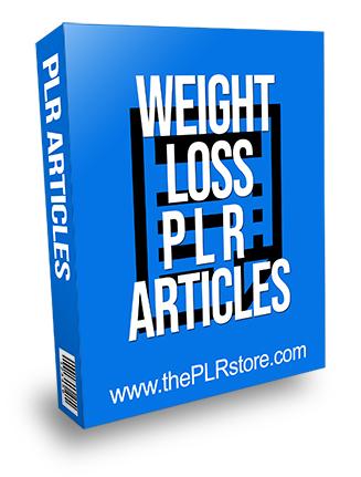 Weight Loss PLR Articles 25