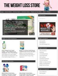 Weight Loss PLR Turnkey Amazon Store Website
