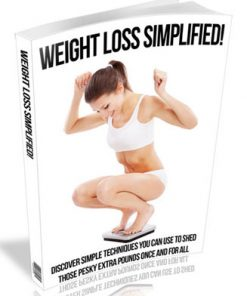 Weight Loss Simplified PLR Ebook