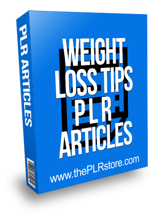 weight loss tips plr articles
