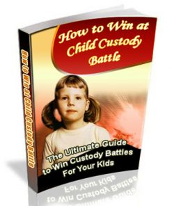 Win Child Custody Battle PLR Ebook