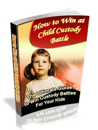 Win Child Custody Battle PLR Ebook