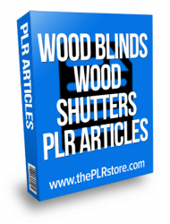window shutter and wood blinds plr articles window shutter and wood blinds plr articles Window Blinds and Wood Shutter PLR Articles window shutter and wood blinds plr articles 190x250