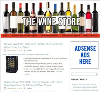 Wine PLR Amazon Store Turnkey Website wine plr amazon store turnkey website cover 327x301