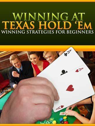 Winning Texas Holdem PLR Ebook