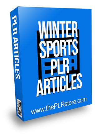Winter Sports PLR Articles