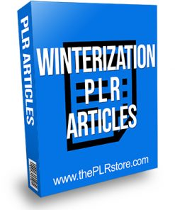 Winterization PLR Articles
