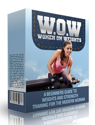 Women on Weights Ebook MRR Package