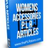 Womens Accessories PLR Articles