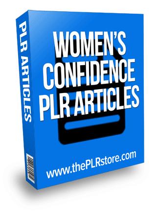 womens confidence plr articles
