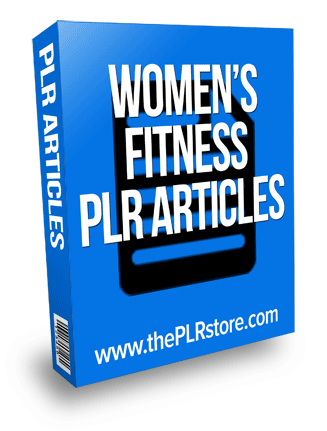 womens fitness plr articles