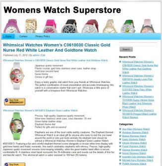 Womens Watches PLR Amazon Store Website womens watches plr amazon store website main 327x334