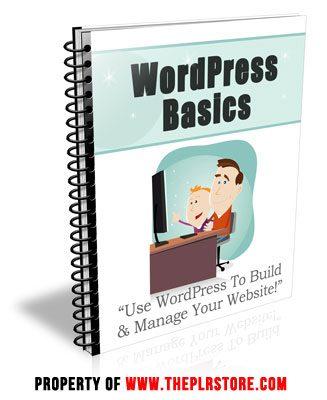 wordpress basics plr autoresponder messages Wordpress Basics PLR Autoresponder Messages wordpress basics plr autoresponders cover 327x400
