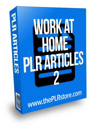 work at home plr articles 2