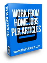 work from home jobs plr articles work from home jobs plr articles Work From Home Jobs PLR Articles with private label rights work from home jobs plr articles 190x250