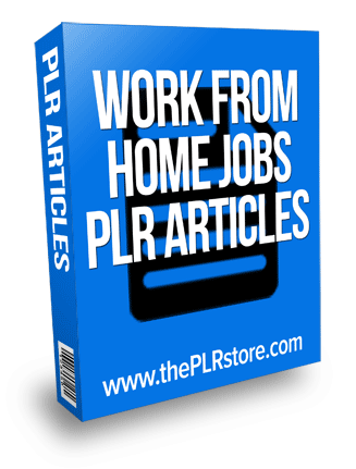 work from home jobs plr articles work from home jobs plr articles Work From Home Jobs PLR Articles with private label rights work from home jobs plr articles