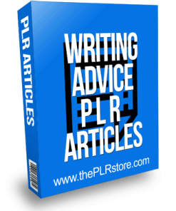 Writing Advice PLR Articles
