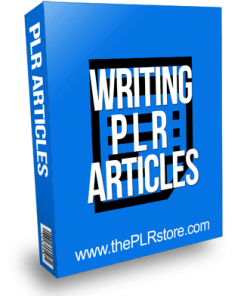 Writing PLR Articles