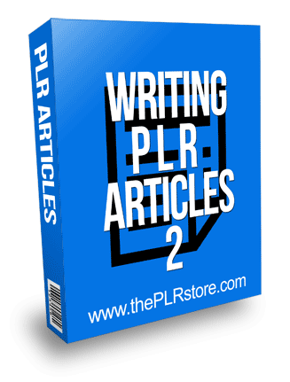Writing PLR Articles 2