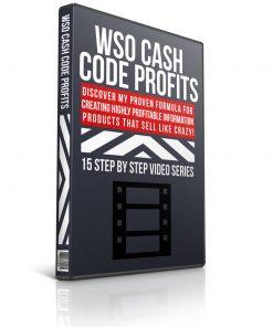 wso cash code profits plr video