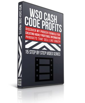 wso cash code profits plr video