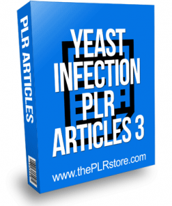 Yeast Infection PLR Articles 3
