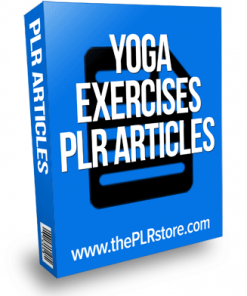 yoga fitness plr articles