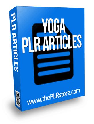 yoga plr articles