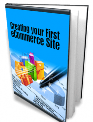 your first ecommerce website  Creating Your First Ecommerce Website Ebook MRR your first ecommerce website cover 190x250