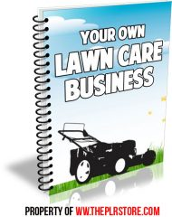 your-own-lawn-care-business-cover-1  Your Own Lawn Care Business PLR Ebook your own lawn care business cover 1 190x240