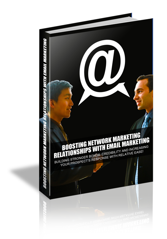 Boosting Network Marketing Relationships with Email MRR Ebook