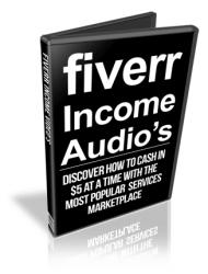 cover fiverr income plr audios Fiverr Income PLR Audios with Private Label Rights cover 190x250
